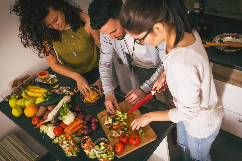 Zusammen kochen im Treffpunkt Neckarstadt-Ost